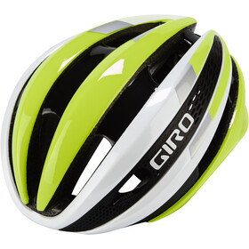 Giro Synthe Casque, white/highlight yellow